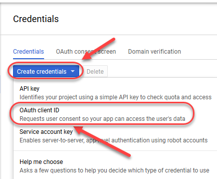Generating OAuth2 Client Secret and Client ID