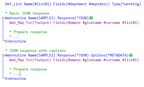 3 13 JSON Support