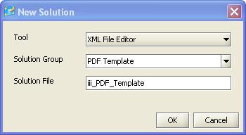 step 2 create the pdf xml template