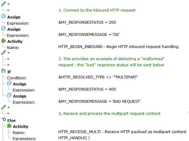 HTTP Inbound Server Processing in LANSA Composer