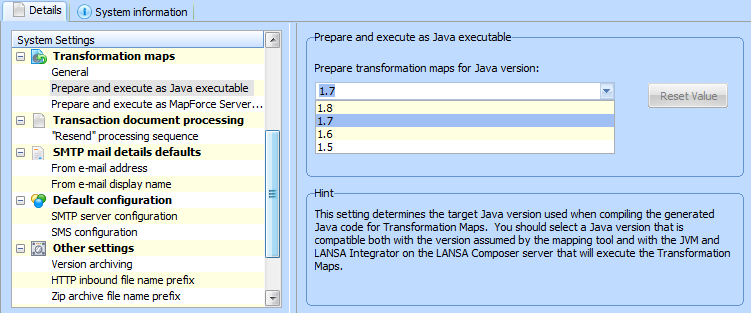 Prepare and execute as Java executable