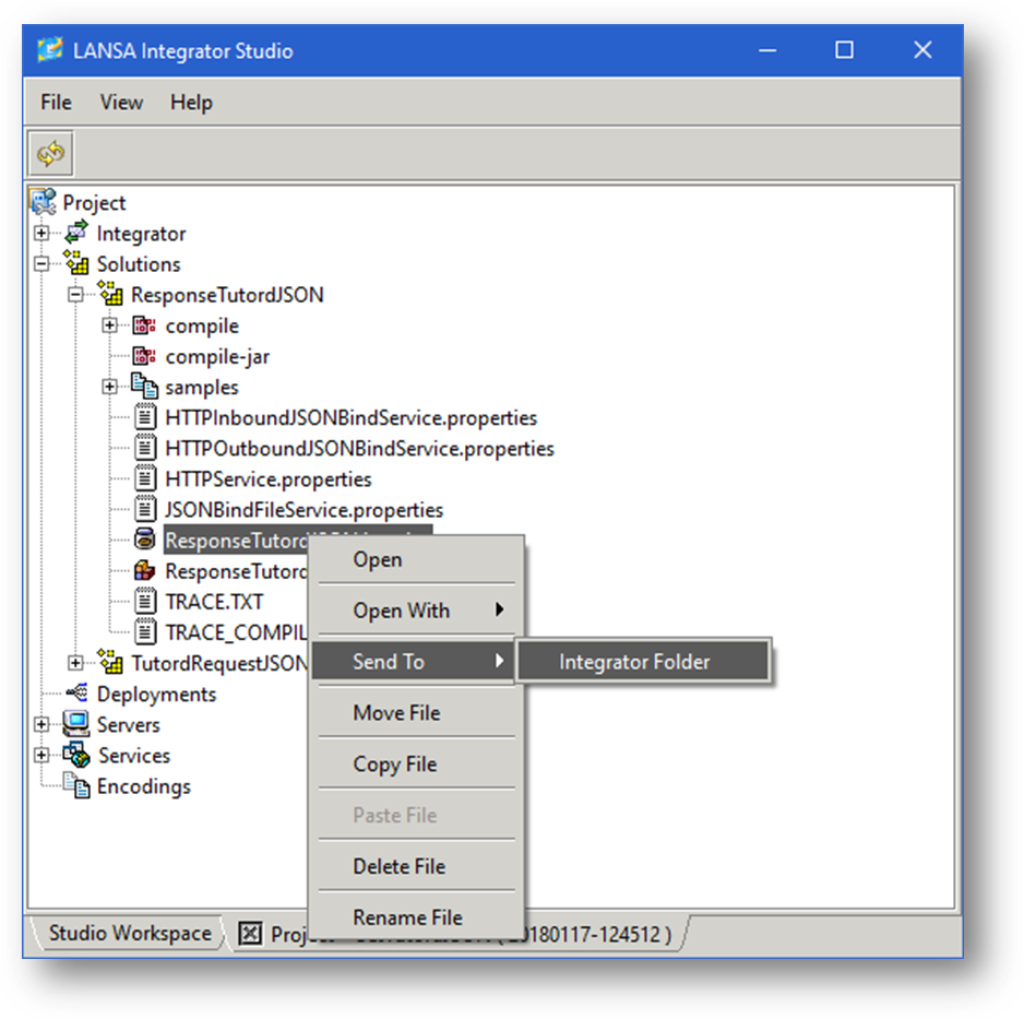 JSM025 Create Build and Deploy the JSON Binding Solution for
